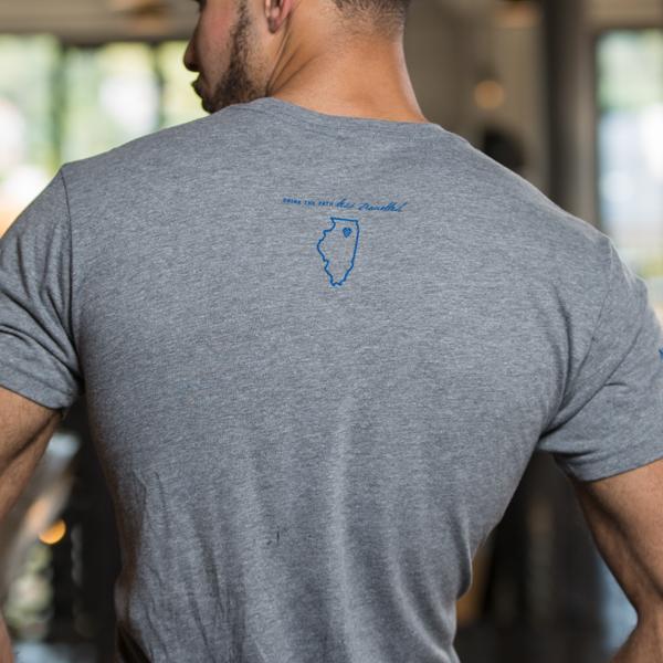 Men's Sieur de Lasalle Lager T-Shirt Back