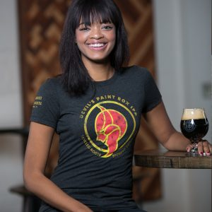 Women's Devil's Paint Box IPA T-Shirt Front