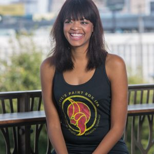 Women's Fitted Devil's Paint Box IPA Tank Top Front