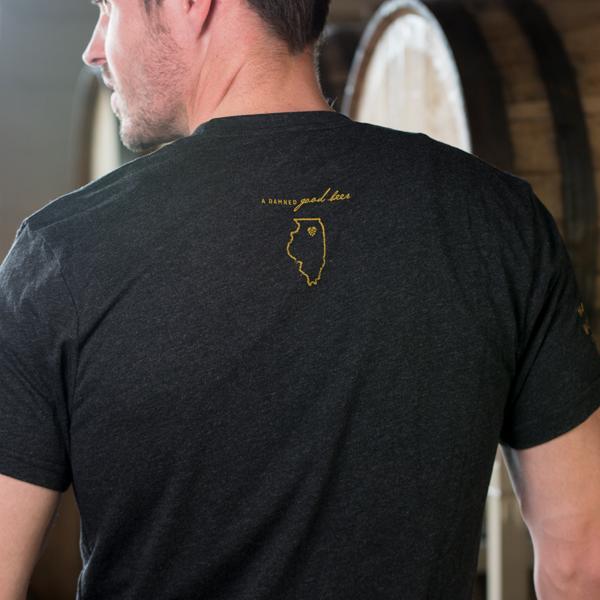 Men's Devil's Paint Box IPA T-Shirt Back