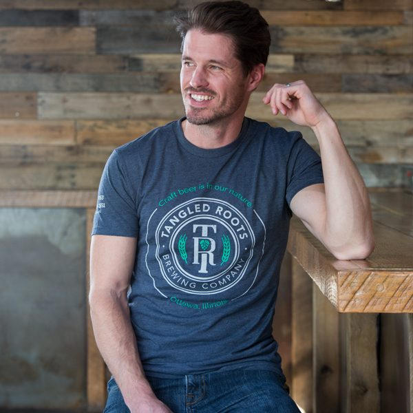 Men's Tangled Roots T-Shirt Front