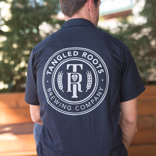 Tangled Roots Brewer's Shirt Back