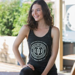 Women's Tangled Roots Flowy Tank Top Front