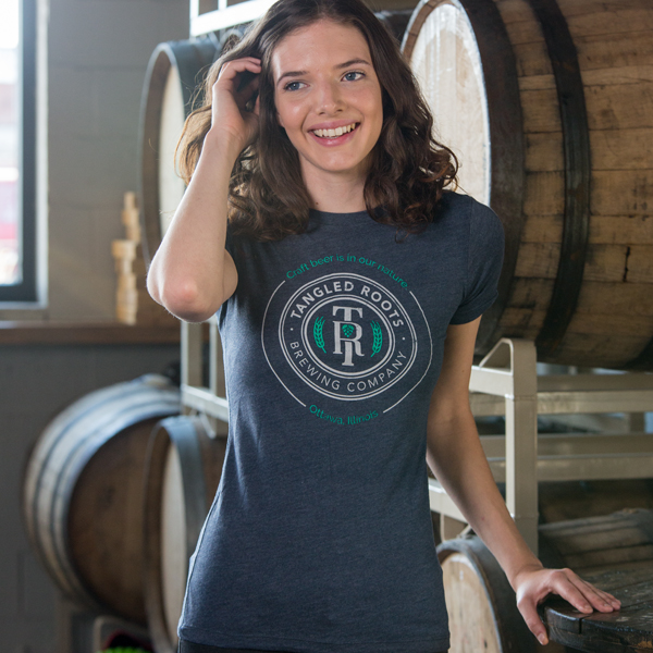 Women's Tangled Roots T-Shirt Front